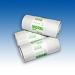 Šiukšlių maišeliai baltos spalvos. 6 mikronai. Supakuota po 50